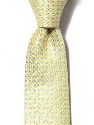 Kingscrest Minimals Light Yellow Polyester Ties