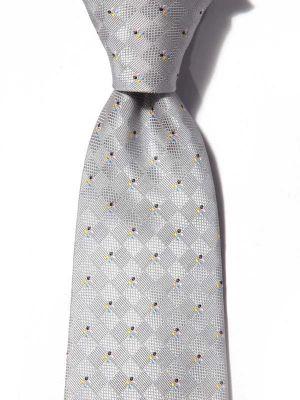 Kingscrest Minimals Light Grey Polyester Tie