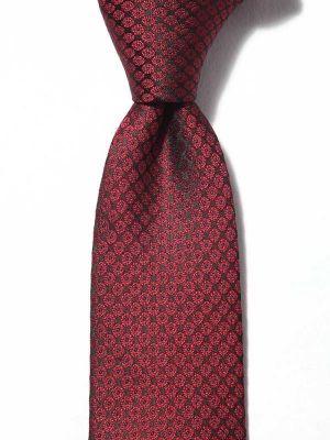 Kingscrest Minimals Dark Maroon Polyester Ties