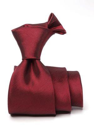Kingston Plain Maroon Dark Polyester Tie