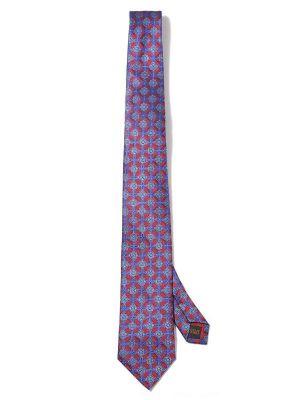 Torino All Over Maroon Dark Silk Tie