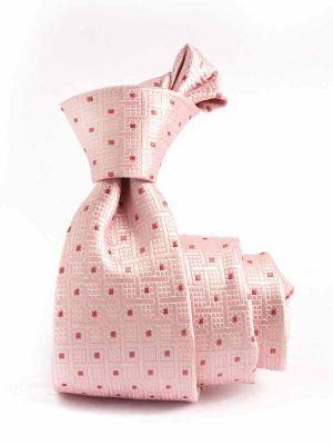 Verona Minimals Light Pink Silk Tie
