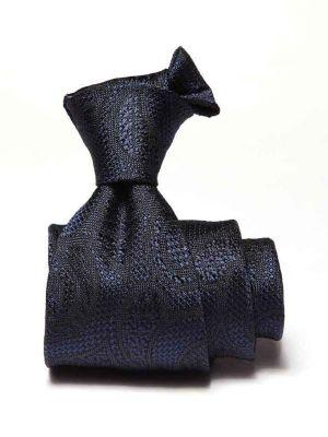 Torino Paisleys Navy Silk Ties