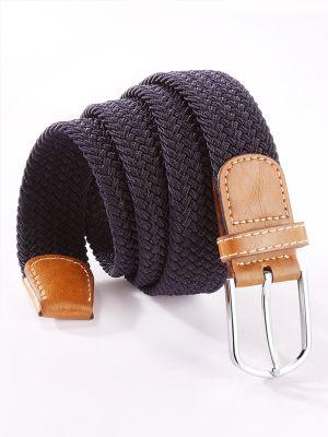 z3 Braided Navy Belt