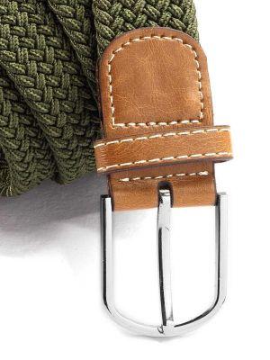 z3 Braided Olive Belt