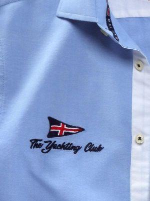 Regatta Sky Cotton Casual Solids Shirt