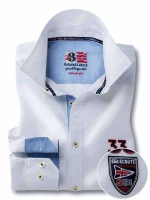 Regatta White Cotton Casual Solids Shirt
