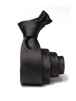 ZT-244 Stripes Black Skinny Tie