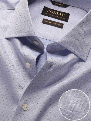 Antonello Tailored Fit Blue Shirt