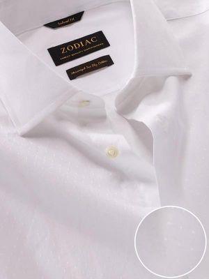 Antonello Tailored Fit White Shirt