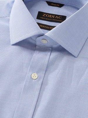 Barboni Classic Fit Blue Shirt