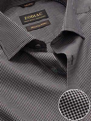 Barboni Tailored Fit Black & White Shirt