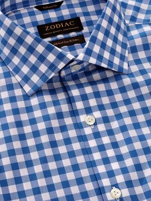 Barboni Tailored Fit Blue Shirt