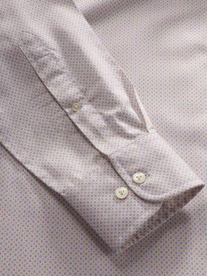Bassano Yellow Cotton Classic Fit Casual Prints Shirt