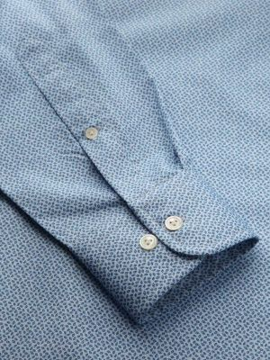 Bassano Tailored Fit Turquoise Shirt