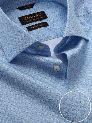 Bassano Tailored Fit Sky Shirt