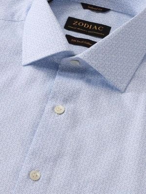 Bassano Tailored Fit Light Sky Shirt