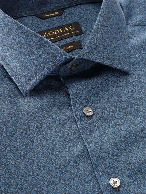Bassano Tailored Fit Navy Shirt