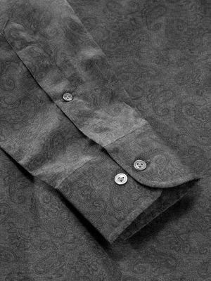 Bassano Tailored Fit Dark Grey Shirt