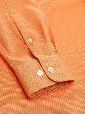 Marzeno Tailored Fit Orange Shirt