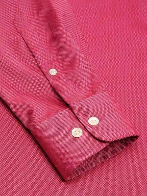 Marzeno Tailored Fit Dark Pink Shirt