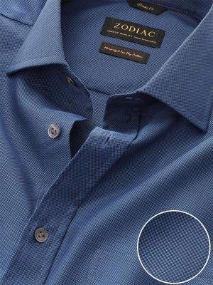 Marzeno Classic Fit Navy Shirt