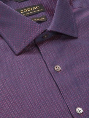 Bruciato Tailored Fit Red Shirt