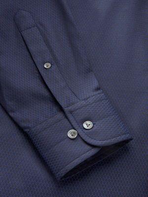 Bruciato Classic Fit Navy Shirt