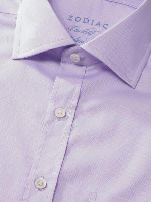Carletti Classic Fit Lilac Shirt
