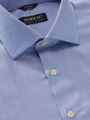 Cascia Tailored Fit Sky Shirt