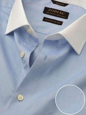 Bankers Tailored Fit Sky Shirt