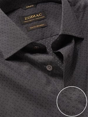 Chianti Anthra Cotton Tailored Fit Evening Solids Shirt