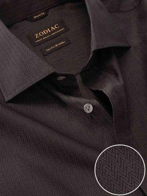 Chianti Anthra Cotton Classic Fit Evening Solids Shirt