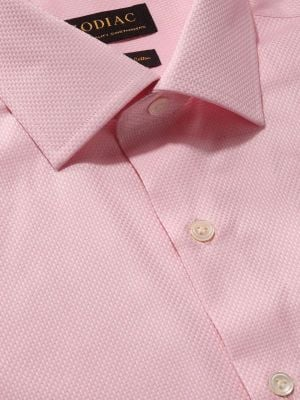 Cione Tailored Fit Pink Shirt