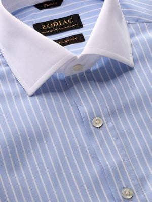 Bankers Classic Fit Sky Shirt