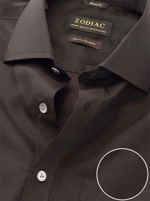Fine Anthra Cotton Tailored Fit Evening Solids Shirt
