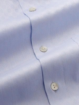 Matera Tailored Fit Sky Shirt