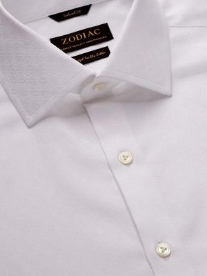 Matera Tailored Fit White Shirt