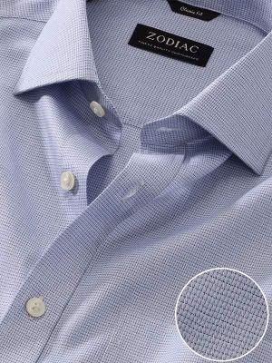 Mazzaro Classic Fit Blue Shirt