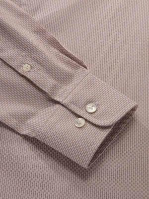 Montefalco Tailored Fit Beige Shirt