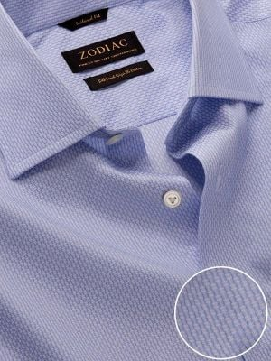 Montefalco Tailored Fit Sky Shirt