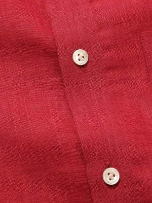 Praiano Tailored Fit Red Shirt