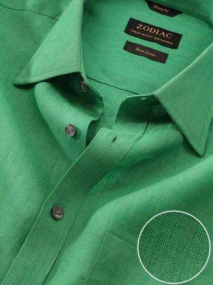 Praiano Classic Fit Green Shirt