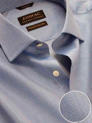 Roreto Classic Fit Blue Shirt