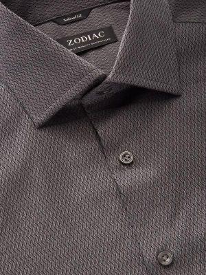 Savuto Tailored Fit Anthra Shirt
