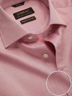 Tramonti Rose Cotton Classic Fit Formal Solid Shirt