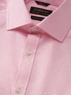 Tramonti Classic Fit Pink Shirt