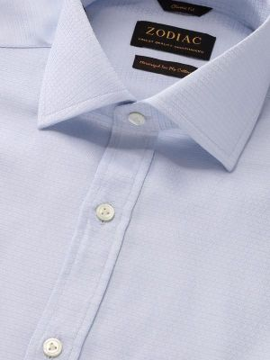 Tramonti Sky Cotton Classic Fit Formal Solids Shirt