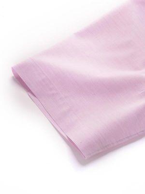 Venete Lilac Cotton Classic Fit Formal Melange Solids Shirt