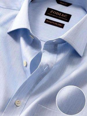 Vercelli Classic Fit Sky Shirt